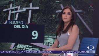Según datos de la ONU Mujeres, son nueve las asesinadas diariamente en México