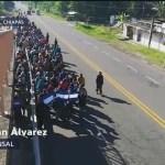 Detienen a migrantes centroamericanos en Chiapas