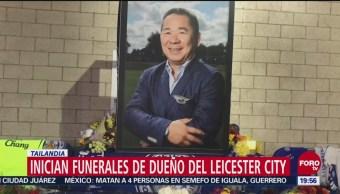 Inician Funerales Dueño Del Leicester City Tailandia Inglaterra, Vichai Srivaddhanaprabha Estrellarse Su Helicóptero
