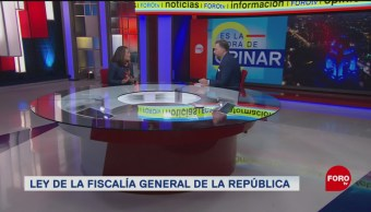 Ley Fiscalía General República Aciertos Y Deficiencias
