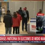 Lluvia no impide participación en elecciones intermedias en EU