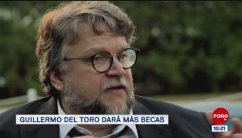 #LoEspectaculardeME: Guillermo del Toro dará más becas