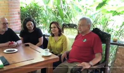 Difunde AMLO nuevo video desde Palenque, Chiapas; prepara discurso para el sábado