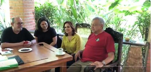 Difunde AMLO nuevo video desde Palenque, Chiapas