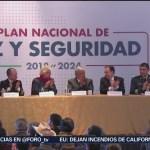 López Obrador Presenta El Plan Nacional