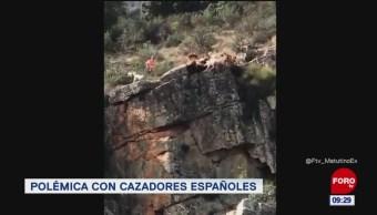 #LoQueVimosEnLaRed: Polémica con cazadores por caída de perros