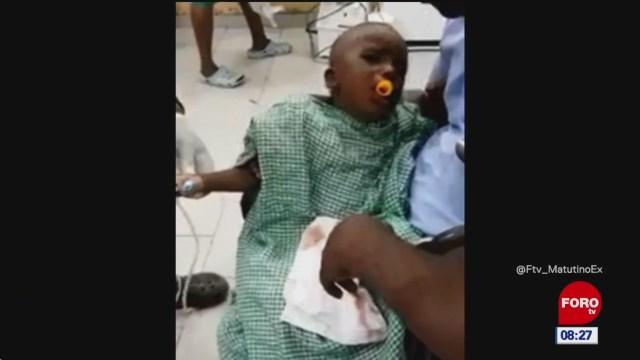 #LoQueVimosEnLaRed: Salvan a niño de ahogarse