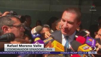 Rafael Moreno Valle, nuevo coordinador del PAN en el Senado