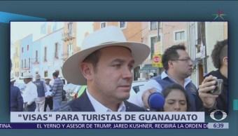 'Visas' para turistas de Guanajuato
