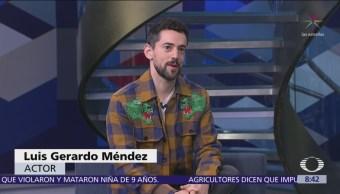 Luis Gerardo Méndez presenta la cinta 'Bayoneta'