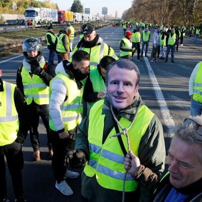 Protesta ciudadana contra Macron en toda Francia deja un muerto