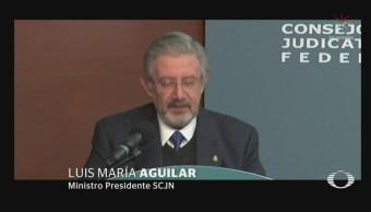 Presidente Suprema Corte Defiende Autonomía Poder Judicial