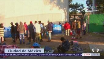 Magdalena Mixhuca reúne a más de 2 mil migrantes centroamericanos