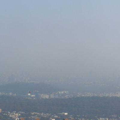 Ecatepec presenta mala calidad del aire; registra 106 puntos de partículas suspendidas