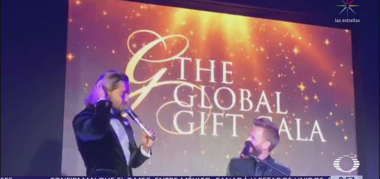 Maluma reúne a famosos en Medellín para una gala benéfica de Global Gift