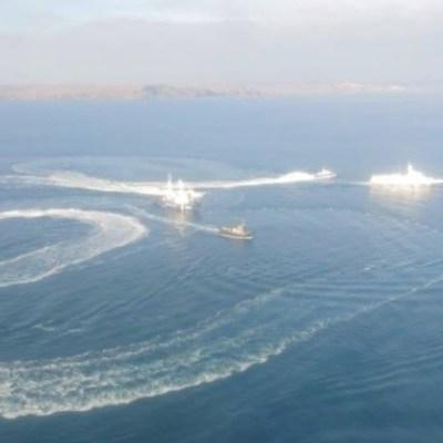 Rusia y Ucrania mantienen enfrentamiento naval por el Mar Negro