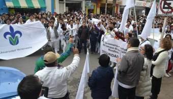 Marchan en Veracruz por asesinato de Valeria Cruz Medel