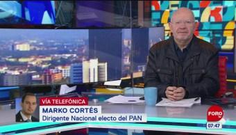Marko Cortés dice que construirá proyecto incluyente en el PAN