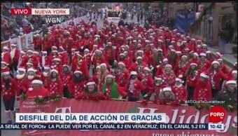 Inicia desfile del Día de Acción de Gracias