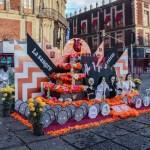 UNAM dedica Megaofrenda al movimiento del 68
