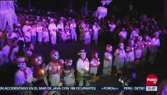 Mérida realiza el 'Paseo de las Ánimas'
