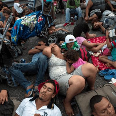 Detienen a por lo menos 600 migrantes centroamericanos en Chiapas