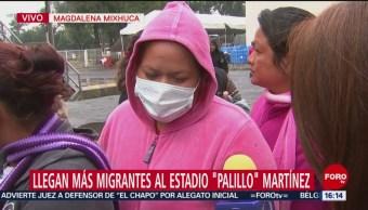 Migrante recuerda a su familia, que dejó en El Salvador