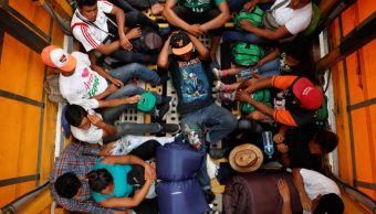 Primera caravana migrante se instala en el DIF de Irapuato