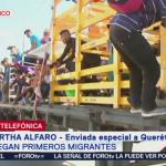 Migrantes llegan a Querétaro
