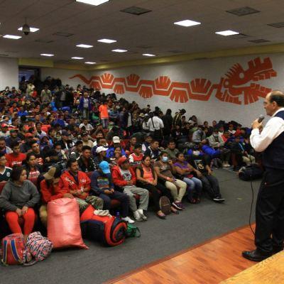 Coparmex ofrece empleo a 400 migrantes en la Ciudad de México