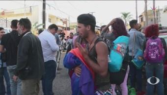 Migrantes Comunidad Lgbt Siguen Instalados Playas Tijuana