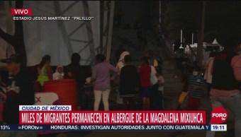 Migrantes Esperan Reunión Con López Obrador