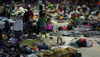 Migrantes centroamericanos de la primera caravana llegan a Guadalajara