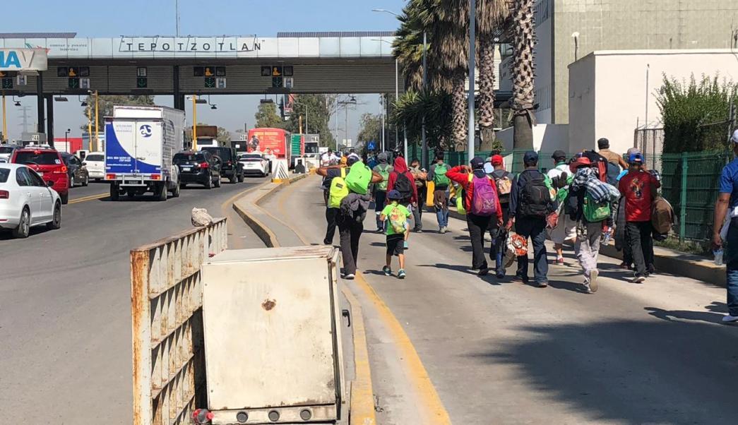 Querétaro se prepara para llegada de primera caravana migrante