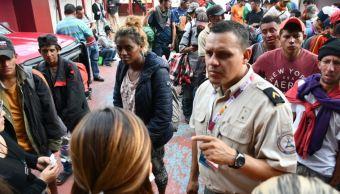 Caravana migrante llega a Guadalajara, Jalisco