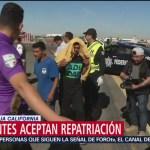 Migrantes optan por la repatriación