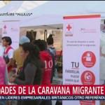 Migrantes reciben asesoría legal en albergue de la CDMX