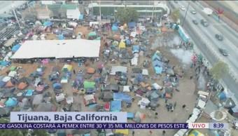 Migrantes reciben atención médica en Tijuana