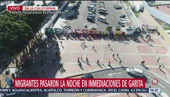 Migrantes Solicitan Asilo Puente Fronterizo El Chaparral Garita De Otay Alrededor De 2,500 Centroamericanos Autoridades Estadounidenses