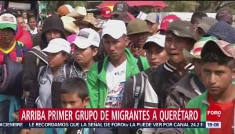 Migrantes Viajan 6 Horas Llegar Caseta México-Tepotzotlán