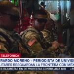 Militares de Estados Unidos llegan a la frontera con México