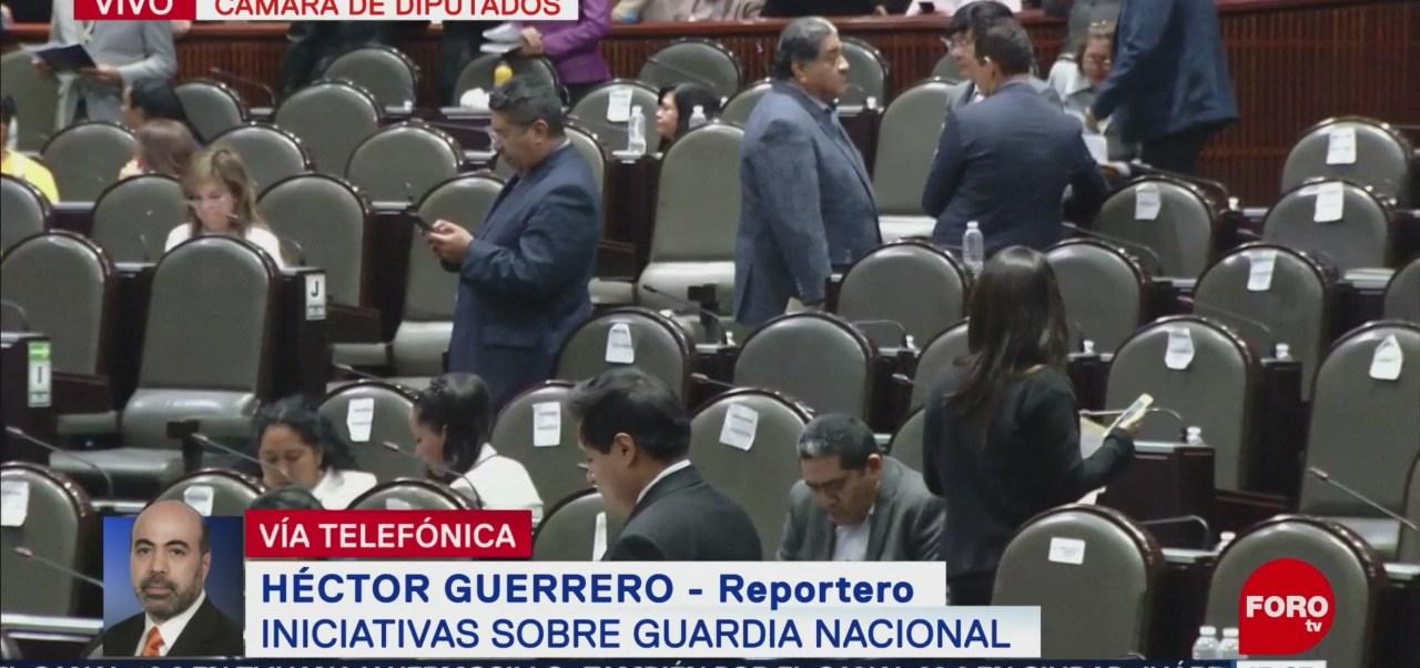 Morena presenta iniciativa para crear la Guardia Nacional