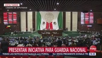 Morena propone reformas constitucionales para guardia nacional