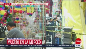 Muere une persona en La Merced, CDMX