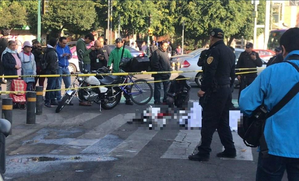 Mujer ciclista muere luego de ser atropellada por autobús del IPN