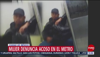 Mujer denuncia acoso en Metro de la CDMX