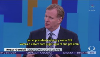 NFL volverá a México en 2019, considera aliado a Televisa