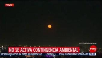 No se activa contingencia ambiental en la CDMX