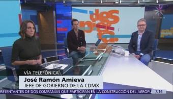 Obras del Cutzamala podrían terminar antes de lo previsto, dice José Ramón Amieva