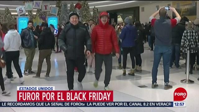 Frenesí por el 'Black Friday' en estados Unidos